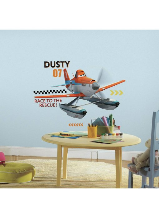 Muursticker Dusty Planes 2