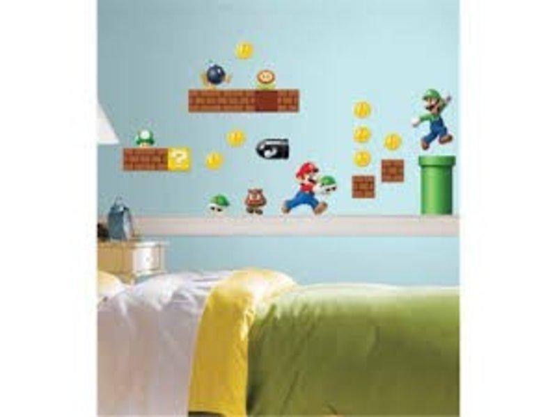 Disney Muursticker Super Mario kinderkamer