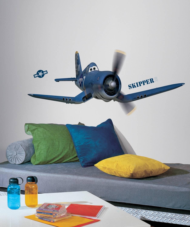 Maak van de kinderkamer een levensechte Planes film!