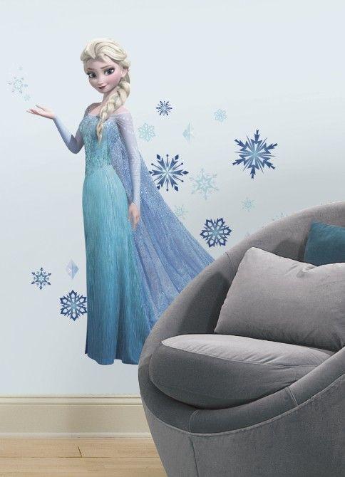 Maak van de meisjeskamer een vrolijke Frozen kamer!