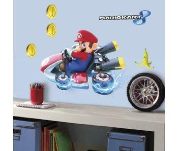 Muursticker Mario Kart 8 Groot