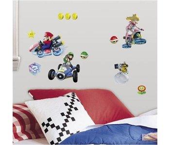 Muursticker Mario Kart 8