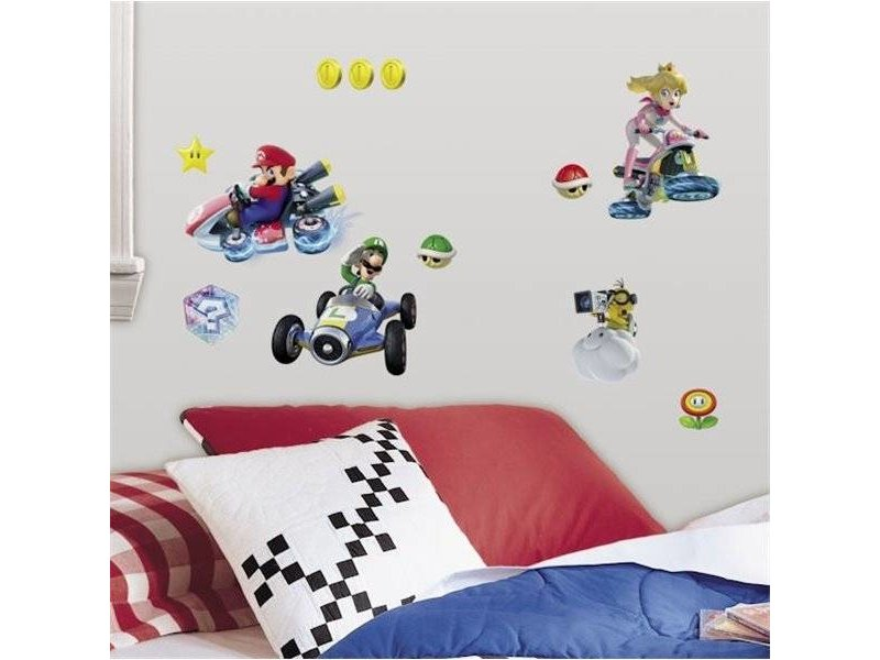 Disney Muursticker Mario Kart 8
