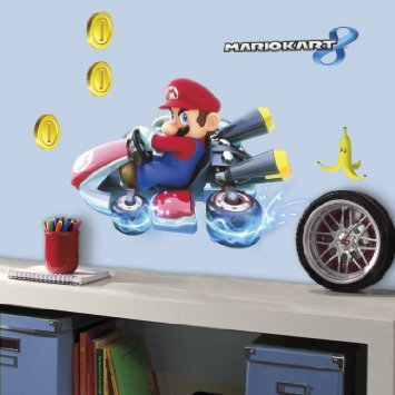 Nieuw! Mario Kart 8 muurstickers!