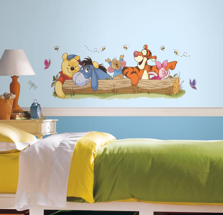 Zo maak je van de babykamer een Winnie de Poeh kamer