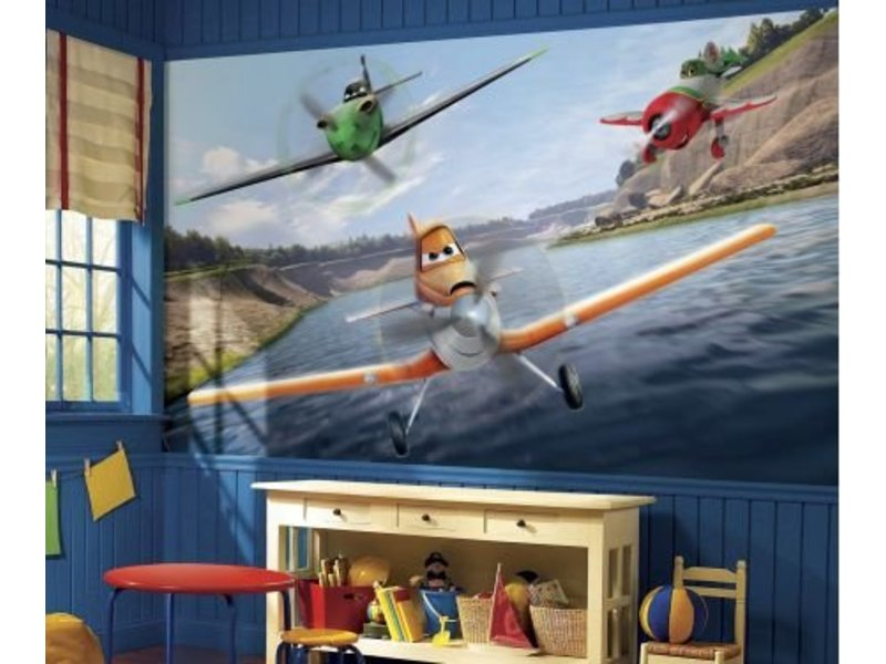 Disney Muursticker Planes Dusty XXL