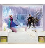 Disney Muursticker Frozen Elsa, Anna en Olaf stickerbehang