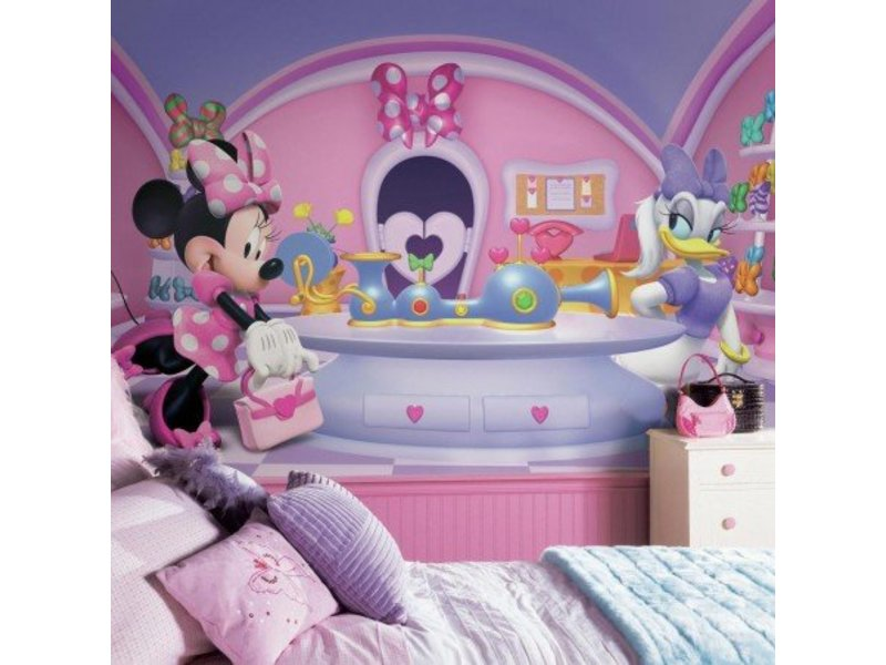 Disney Stickerbehang Minnie Mouse muursticker