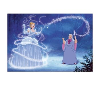 Muursticker Disney Princess XXL Assepoester