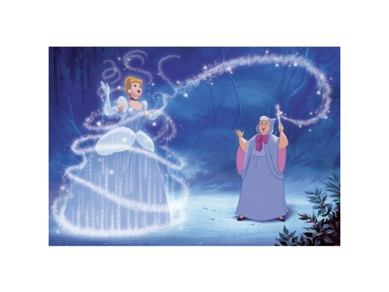 Disney Muursticker Disney Princess XXL Assepoester