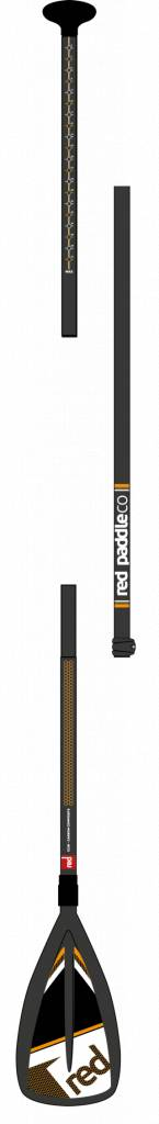 Red Paddle Co Red Paddle Carbon Nylon 3-delig leverlock