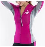 Howzit Howzit neoprene jacket Luna pink/grey