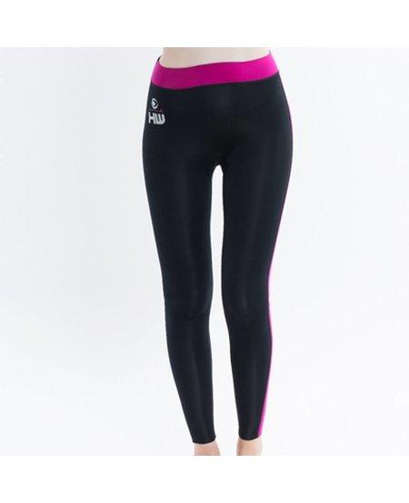 HOWZIT neoprene pant 2mm black/pink