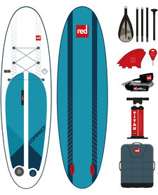 "Red Paddle 9'6"" x 32"" COMPACT compleet"