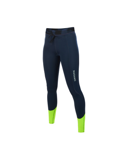 Mystic Diva neoprene pants 2 mm women Navy/Lime