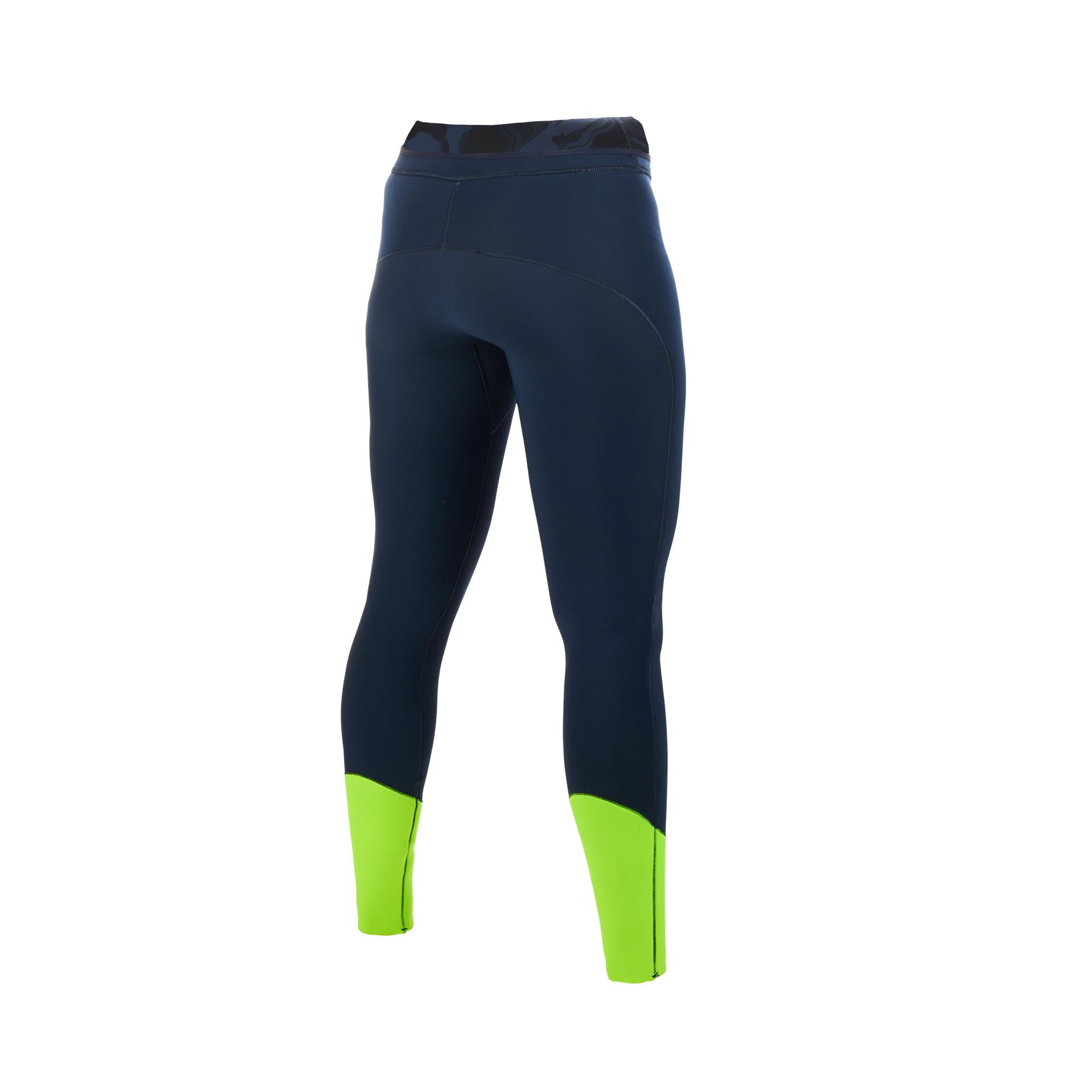 Mystic Mystic Diva neoprene pants 2 mm women Navy/Lime