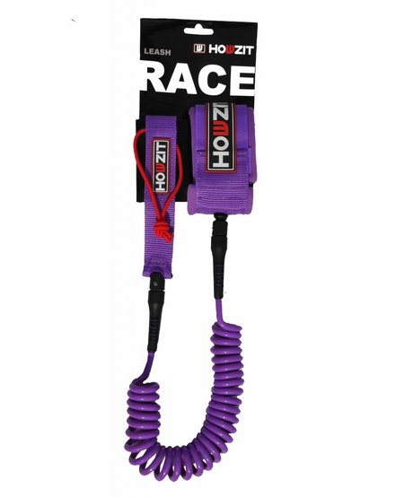 leash coiled purple