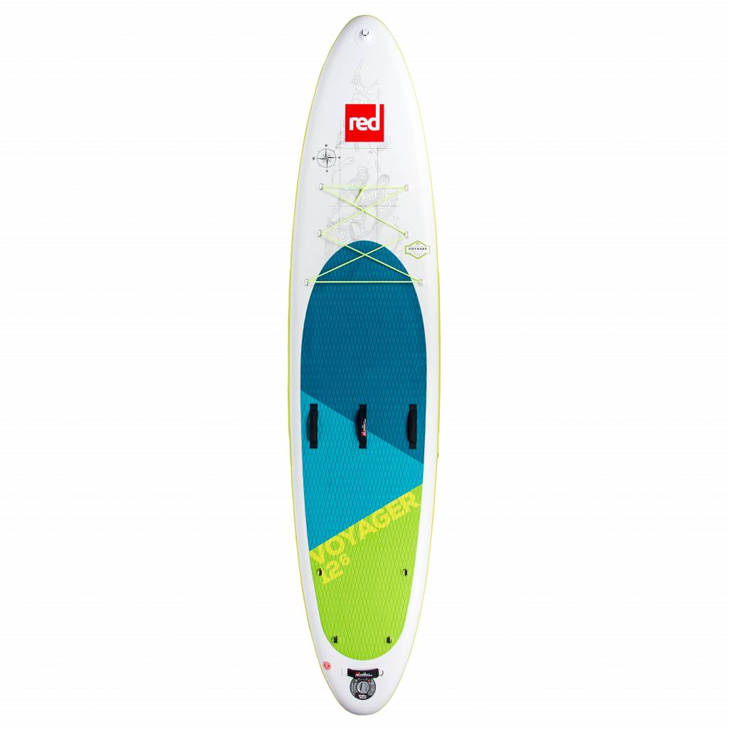 "Red Paddle Co Red Paddle 12'6"" x 32"" Voyager MSL - COMPLETE"