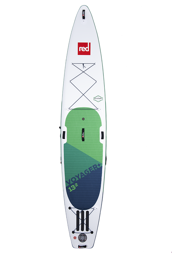 """Red Paddle Co Red Paddle 13'2"""" x 30"""" Voyager+ SUP-package 2020"""