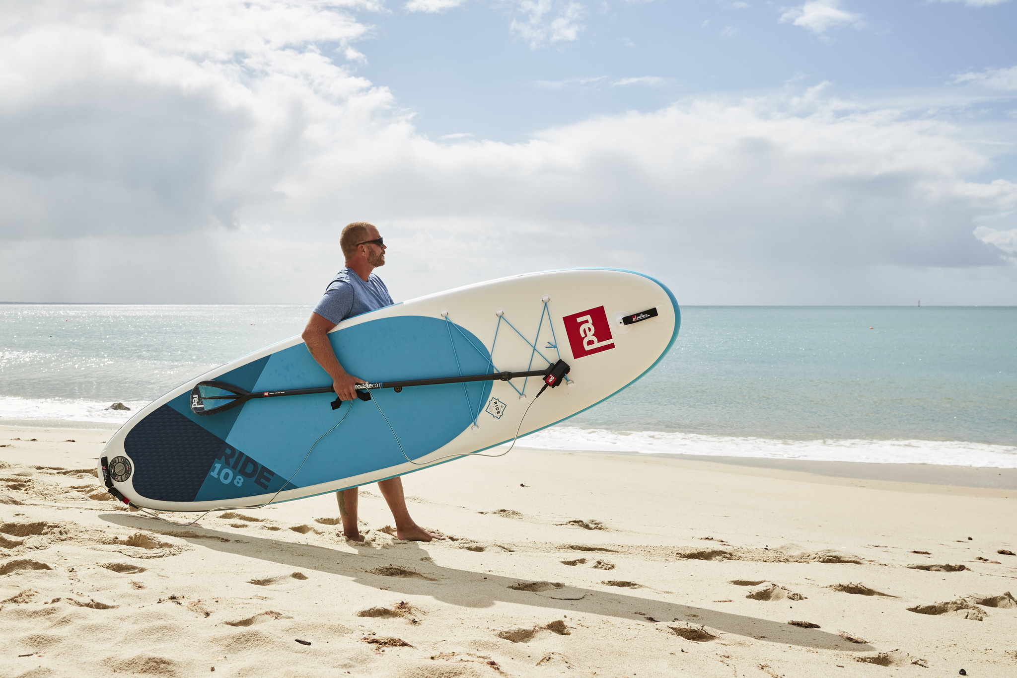 """Red Paddle Co Red Paddle 10'8"""" x  34""""  Ride SUP-package 2020"""