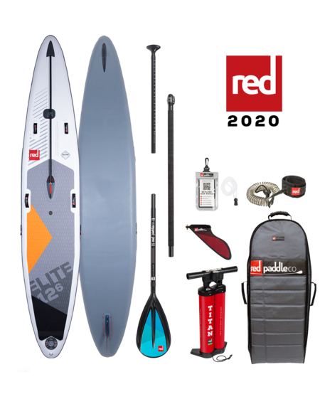 "Red Paddle 12'6"" x 28"" Elite SUP-package 2020"