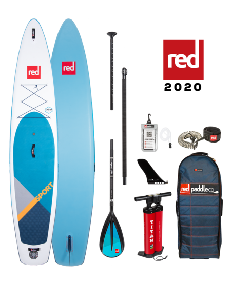 "Red Paddle 12'6"" x 30""  Sport SUP-pakket 2020"