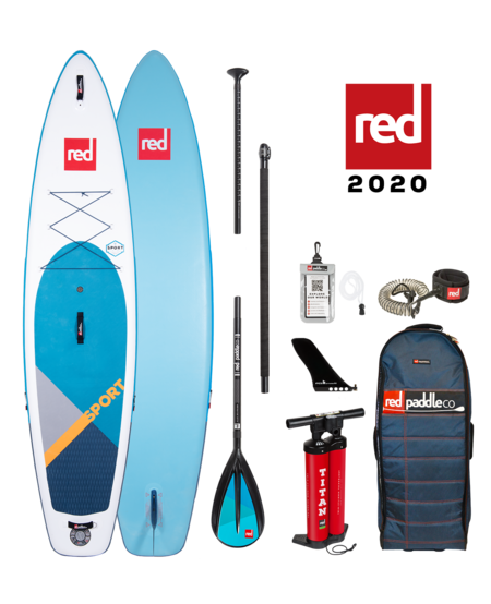 """Red Paddle 11'0"""" x 30"""" Sport SUP-package 2020"""