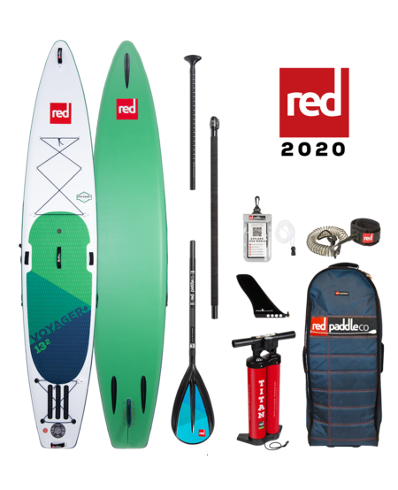 "Red Paddle 13'2"" x 30"" Voyager+ SUP-package 2020"