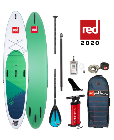 "Red Paddle 12'6"" x 32"" Voyager SUP-package 2020"