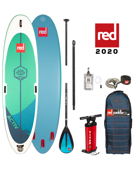 """Red Paddle 10'8"""" x  34""""  Activ SUP-package 2020"""