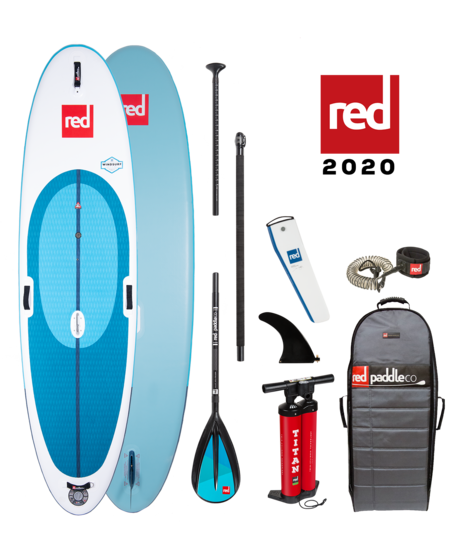 "Red Paddle 10'7 x 33""  WindSURF SUP-package 2020"