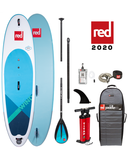 "Red Paddle 10'7"" x 33"" Wind SUP-package 2020"