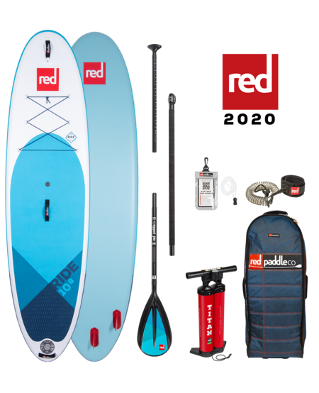 "Red Paddle 10'8"" x  34""  Ride SUP-pakket 2020"
