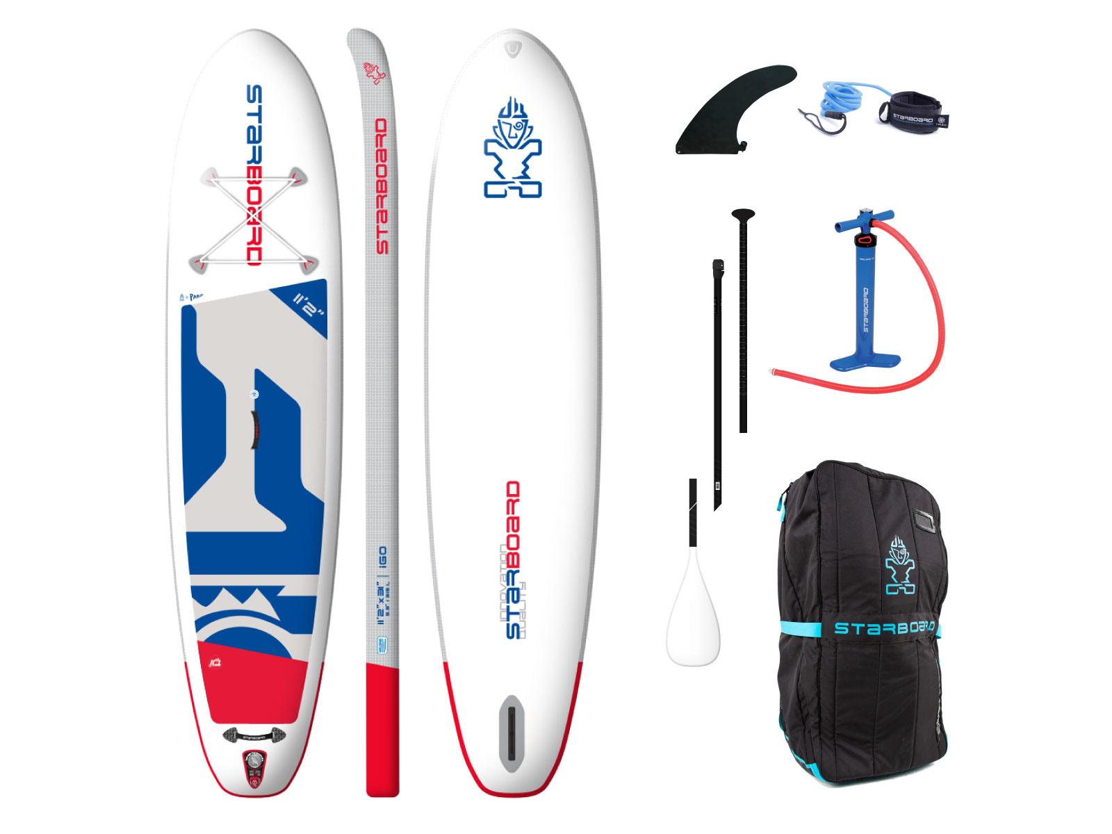 """Starboard SUP Starboard 11'2"""" X 31"""" iGO Zen complete"""