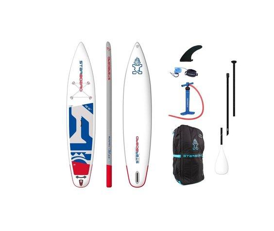 """Starboard SUP Starboard 12'6"""" X 30"""" Touring  Zen compleet"""