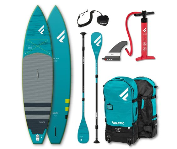 "Fanatic Ray Air Premium 12'6"" x 32"" complete package"
