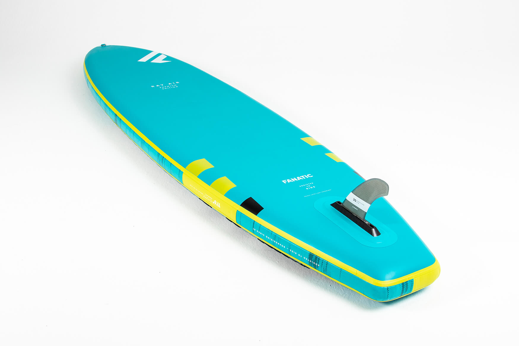 """Fanatic Ray Air Premium 12'6"""" x 32"""" complete package"""