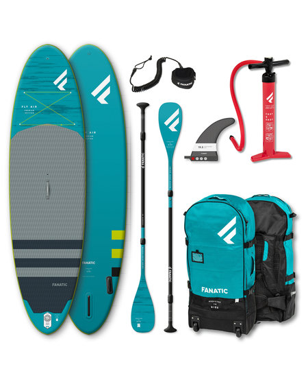 "Fanatic Fly Air 10'8"" Premium compleet pakket"