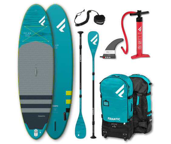 "fanatic Fanatic Fly Air 10'8"" Premium complete package"
