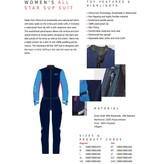 Starboard Starboard Allstar drysuit dames