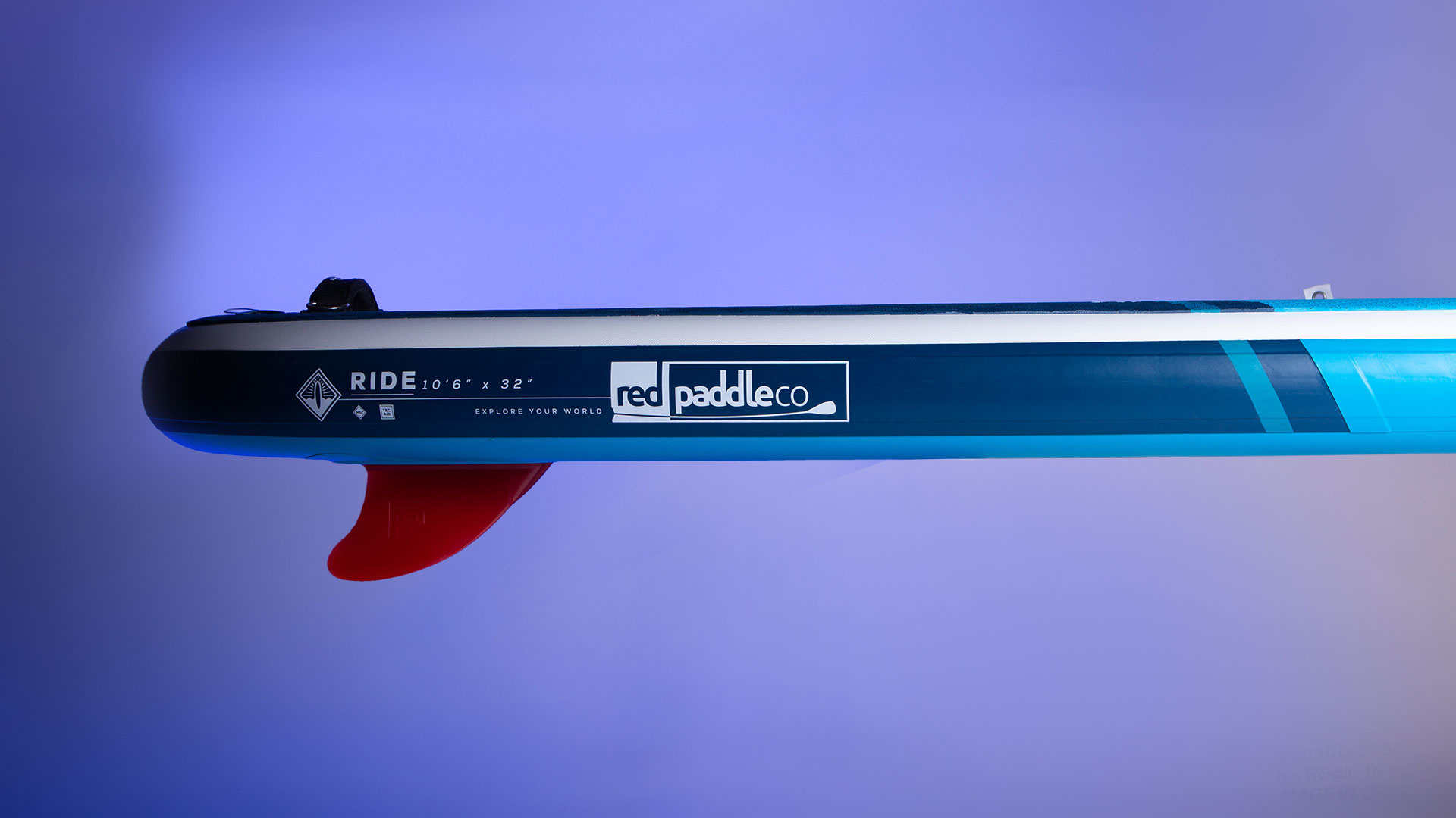 "Red Paddle Co Red Paddle 10'6"" x 32""  Ride SUP-pakket 2021"