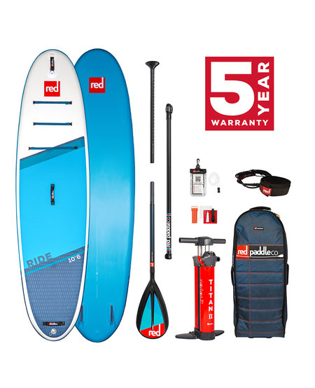 "Red Paddle 10'6"" x 32""  Ride SUP-pakket 2021"