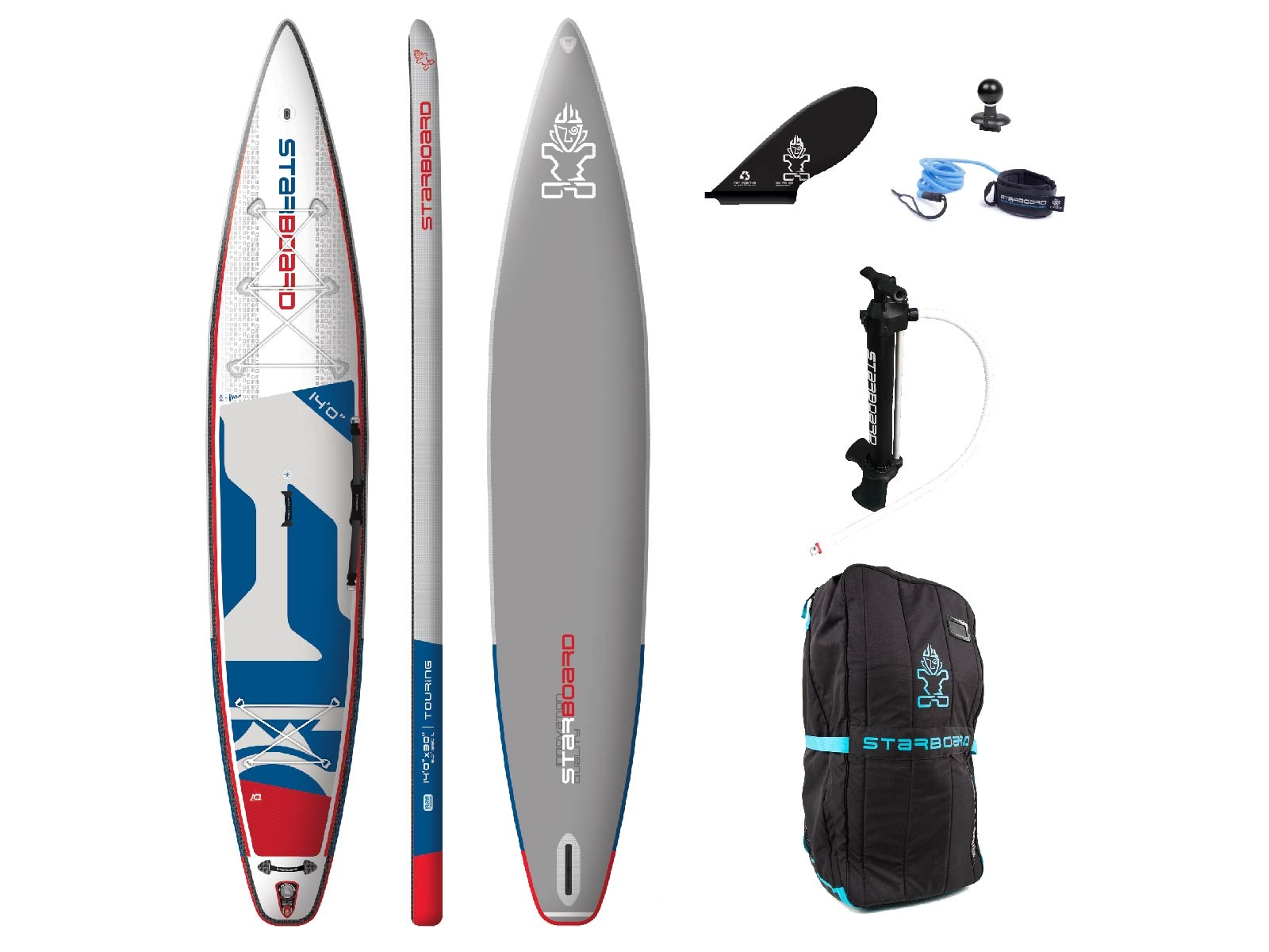 """Starboard 14' X 30"""" Touring  Deluxe SC"""