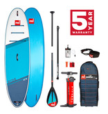 "Red Paddle Co Red Paddle 10'8"" x  34""  Ride SUP-pakket 2021"