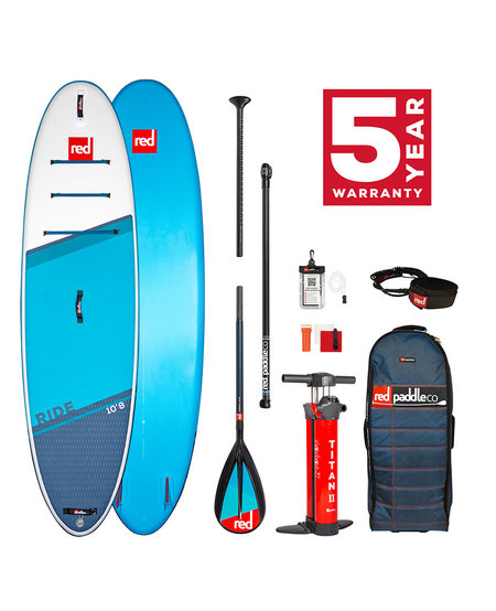 "Red Paddle 10'8"" x  34""  Ride SUP-pakket 2021"
