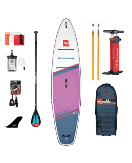 "Red Paddle 11'3"" x 32"" SE Sport SUP-package 2021"