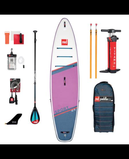 "Red Paddle 11'3"" x 32"" SE Sport  SUP-pakket 2021"