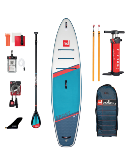 "Red Paddle 11'3"" x 32""  Sport SUP-package 2021"