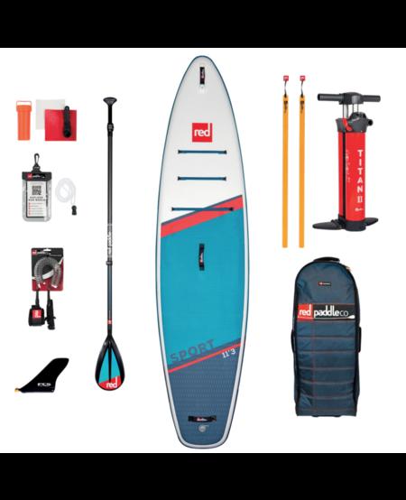 "Red Paddle 11'3"" x 32""  Sport  SUP-pakket 2021"