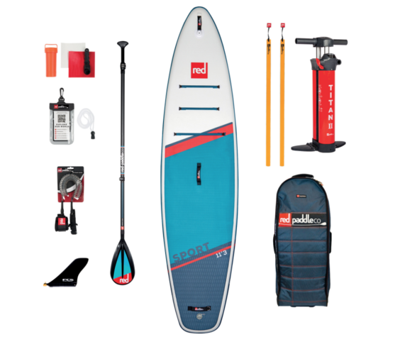"""Red Paddle Co Red Paddle 11'3"""" x 32""""  Sport SUP-package 2021"""